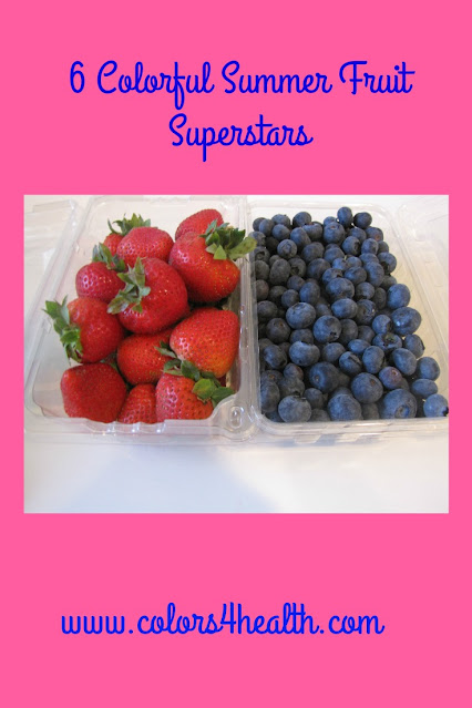 Delicious Strawberries and Blueberries at Colors 4 Health