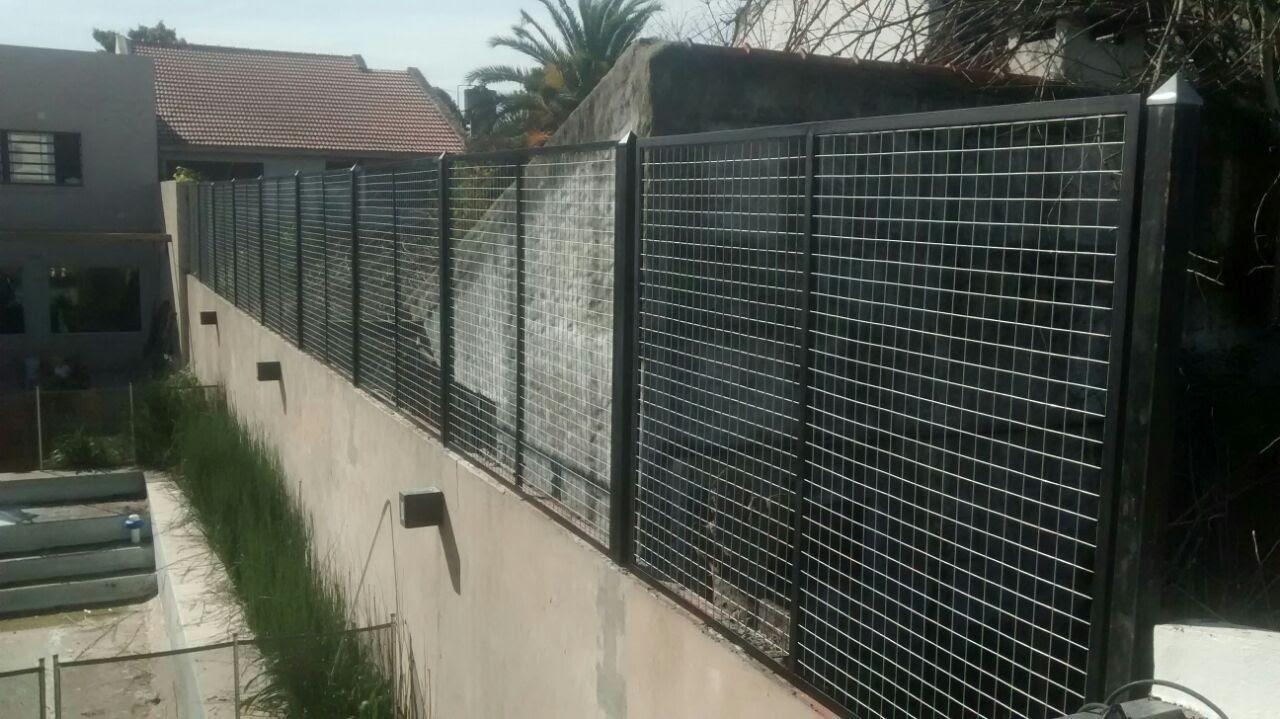 Cerramiento perimetral hierro y malla herreria sch - Mallas de hierro ...