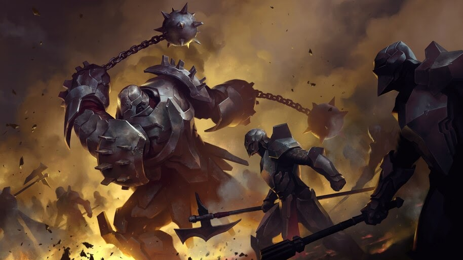 Legends of Runeterra, Captain Farron, 4K, #4.1503