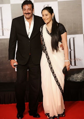 Sanjay Dutt and Maanyata Dutt