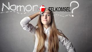 Cara Cek Nomor Telkomsel Sendiri (Simpati, AS, Dan kartu Halo)