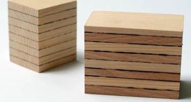 La madera se puede soldar como el metal.