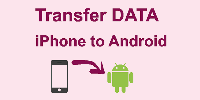 Transfer data contents iPhone to Android
