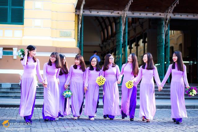 cách chọn trang phục khi chụp ảnh kỷ yếu theo nhóm