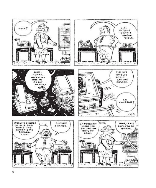 Page extraite de La Manufacture des Belles Enveloppes de Chris Oliveros
