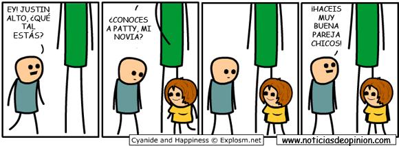 Viñeta de humor: ¡hacéis buena pareja! - Cyanide and happyness