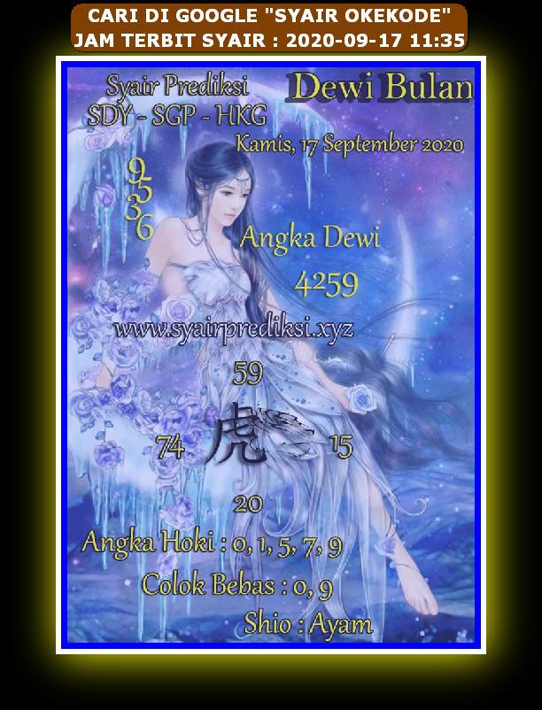 Kode syair Hongkong Kamis 17 September 2020 213