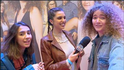 Mônica com o duo Anavitória - Divulgação