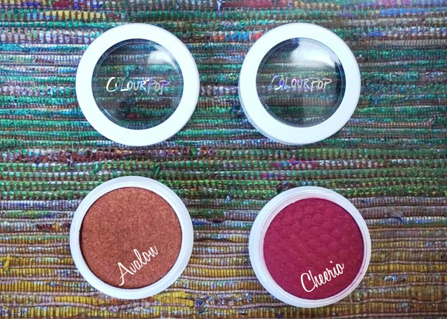 ColourPop Highlighter Avalon, ColourPop Blush Cheerio