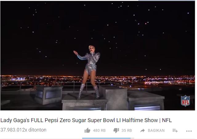 Konser Live Lady Gaga terkeren