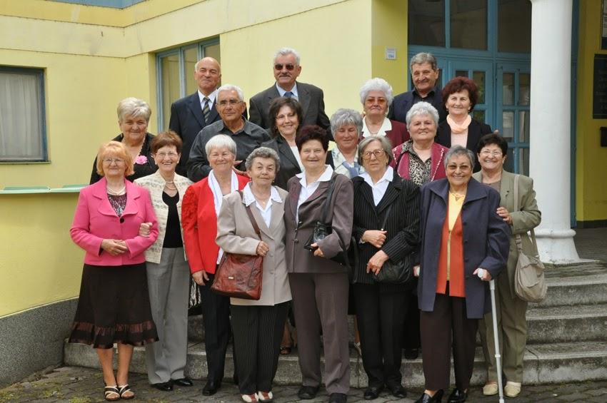 Întâlnire de 50 de ani de la terminarea Şcolii Gimnaziale