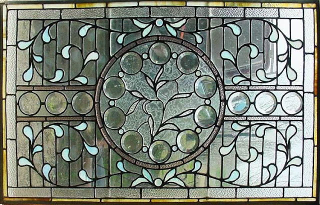 Vintage Stained GLASS WINDOWS for Sale