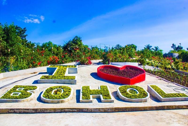 Bliss Petals Botanical Garden in Songculan, Dauis, Bohol