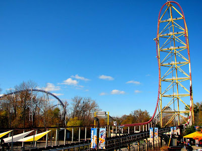 montanha russa Top Thrill Dragster