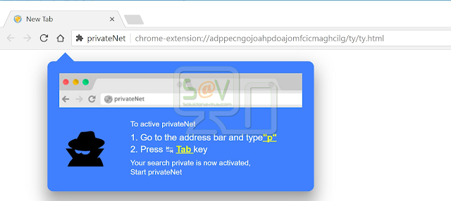 PrivateNet Search (Extensión)