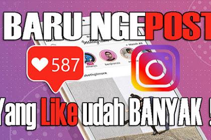 Cara Menambah Like Instagram dengan Cepat