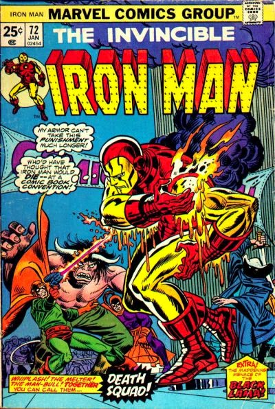 Iron Man #72, Melter and Man-Bull