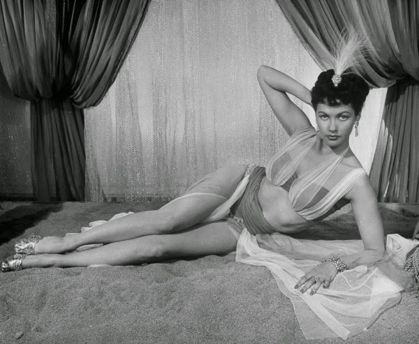 Think, that Sexy nude yvonne decarlo pictures question