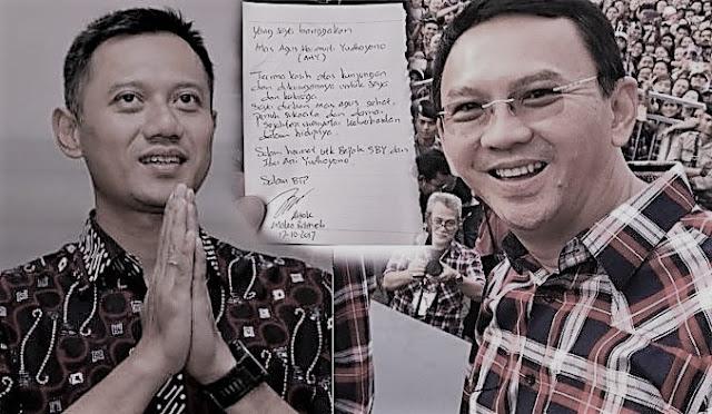 Agus Yudhoyone mengunjungi Ahok di Mako Brimob
