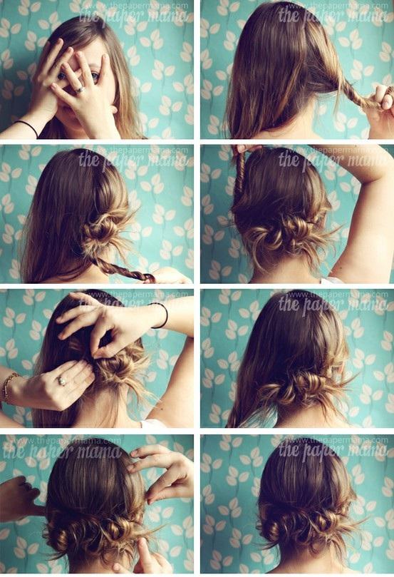 Peinados Elegantes Faciles En Foto Tutorial Peinados Y Cortes De