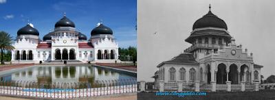Wisata bersejarah satu ini berasal dari kota Banda Aceh. Tempat bersejarah agama dari kota tersebut adalah Majid Raya Baiturrahman.