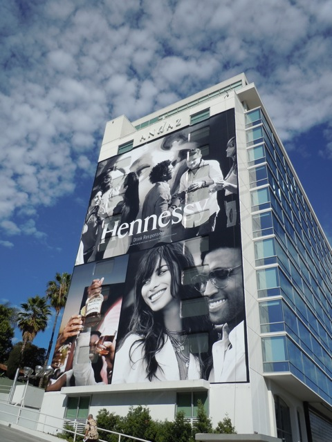Giant Hennessy Cognac billboard Oct 11