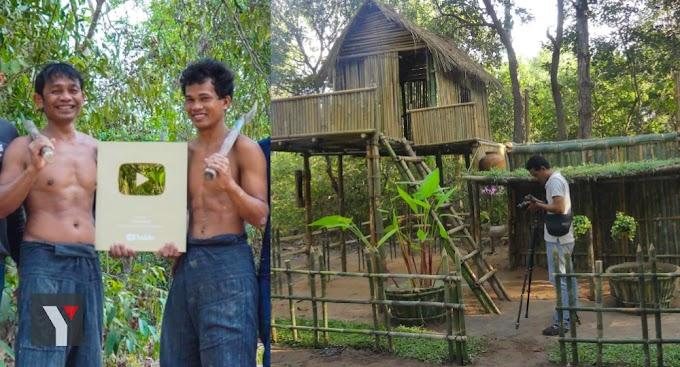 Youtuber Berkonsepkan Kemahiran Hidup Dalam Hutan Dari Cambodia Terima Gold Medal