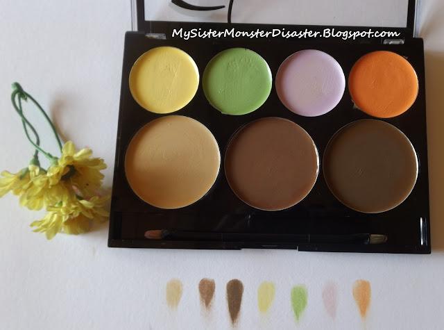 City Color Cream And Contour Pallet Review