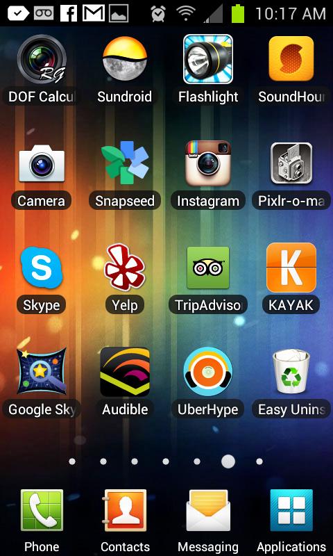cara mengambil screenshot Android
