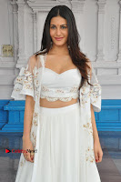 Telugu Actress Amyra Dastur Stills in White Skirt and Blouse at Anandi Indira Production LLP Production no 1 Opening  0131.JPG