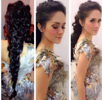 Rambut Kepang Mulan Jameela