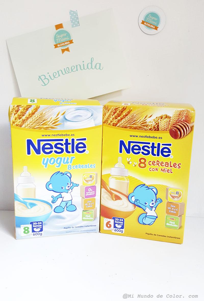 cereales para bebes y niños pequeños de Nestle