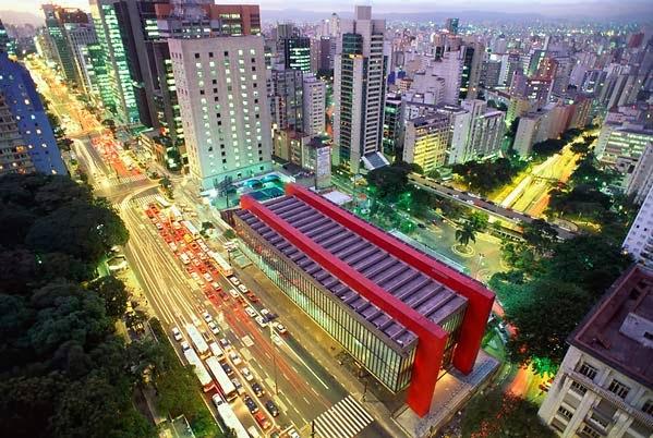 MASP e Avenida Paulista - São Paulo - Brasil