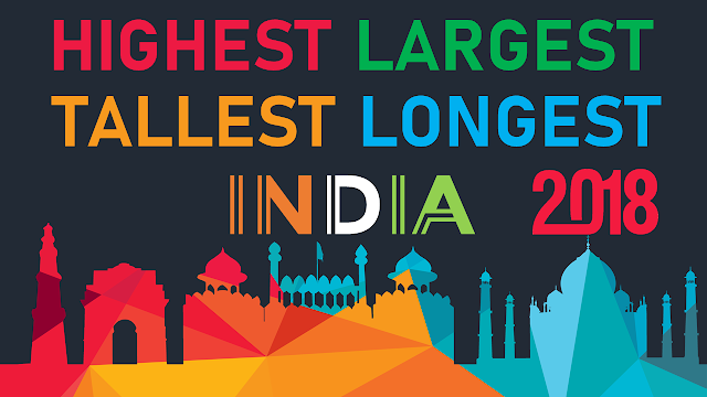 Largest, Highest, Tallest, Longest in India 2018