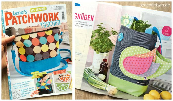 Die Mozzie Bag in der Lena's Patchwork Taschen 53/2016