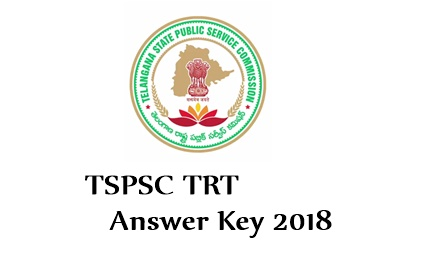 TSPSC TRT SGT Answer Key download 2018-2019, results Manabadi