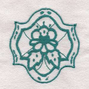 Ornamental flowers embroidery design 111 laembroidery for Embroidery office design 7 5 full