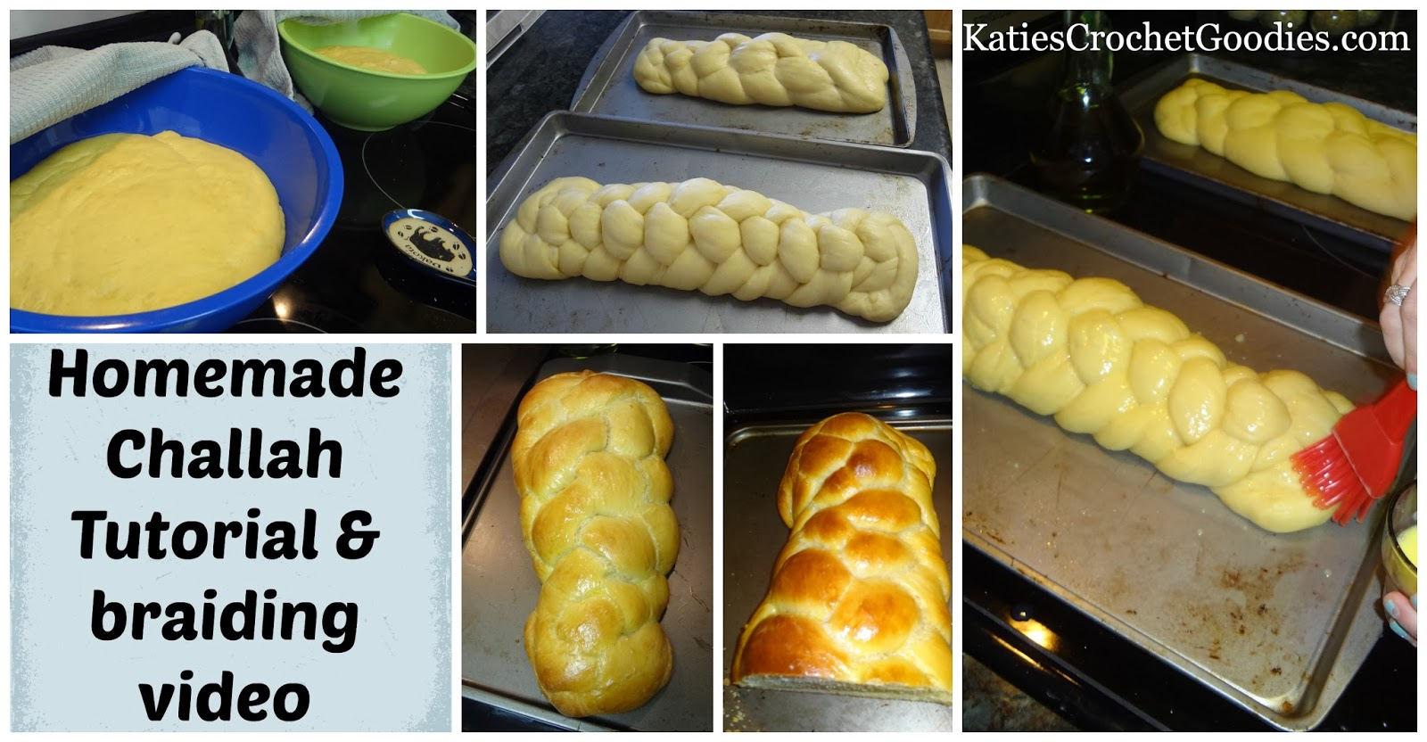 homemade challah recipe
