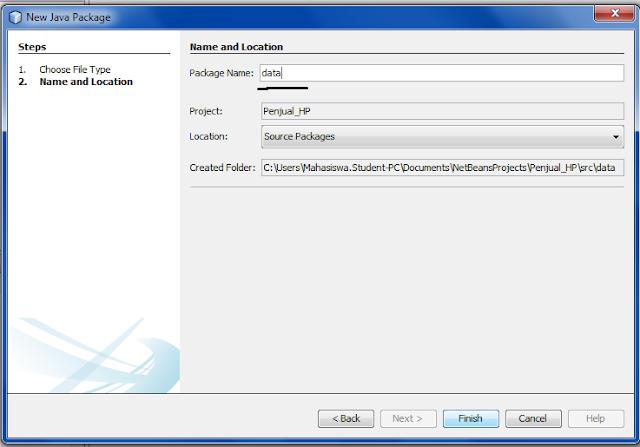 1 3 - Tutorial Mmebuat Aplikasi Penjualan HP Menggunakan Java