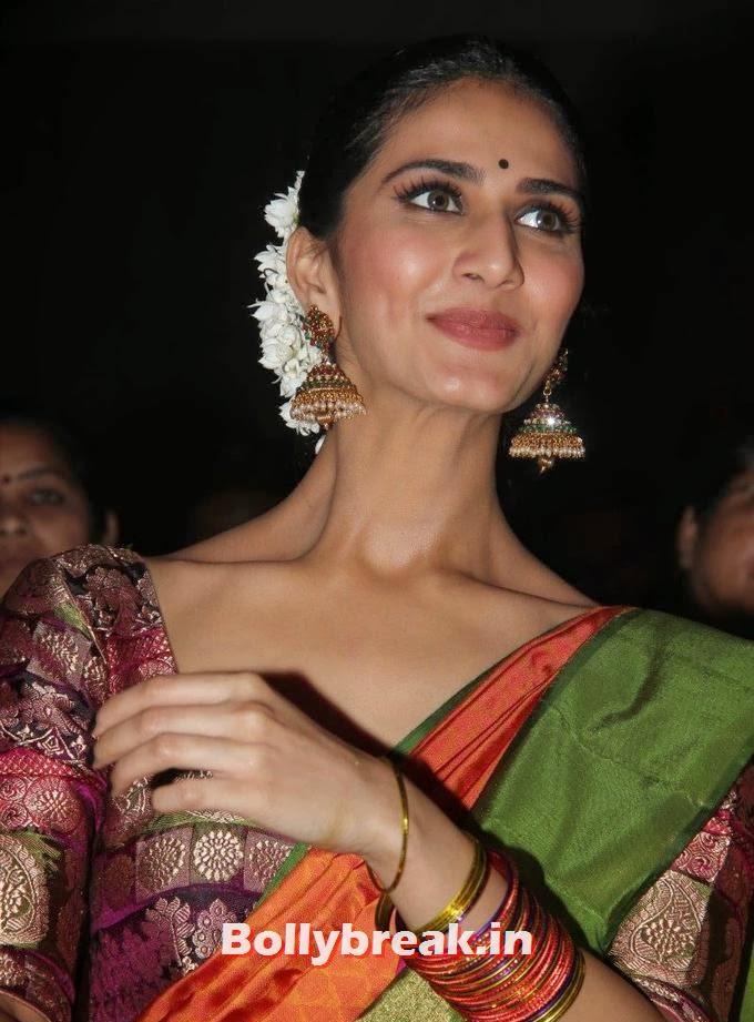 , Vaani Kapoor in Saree at Aaha Kalyanam Movie Audio Launch