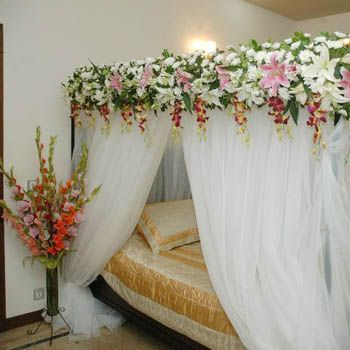 Bridal Bed Room Decoration By Best Decorators In Gurgaon