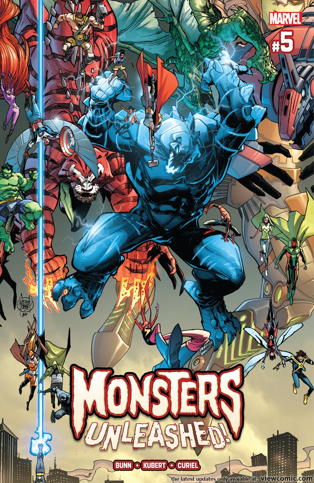 Monsters Unleashed | Viewcomic reading comics online for