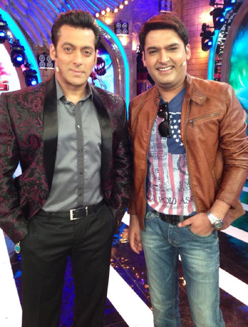 Kapil Sharma With Salman Khan