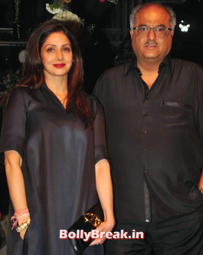Sridevi, Boney Kapoor, Pics of Manish Malhotra Show at Lakme Fashion Week 2014