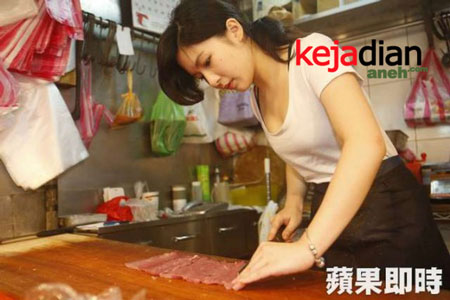 Cewek Montok Penjual Daging Di Taiwan