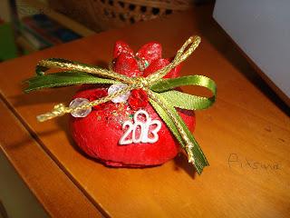 χριστουγεννιάτικες κατασκευές για το ρόδι