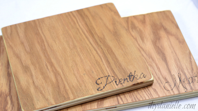 DIY Cutting Board Instructions