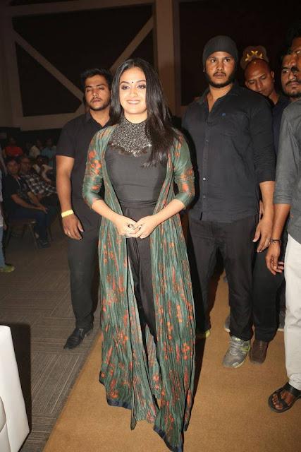 Keerthy Suresh Stills At Gang Movie Pre Release Event