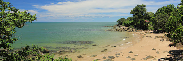 Enjoy the Silence of the Atmosphere at Tanjung Batu Beach