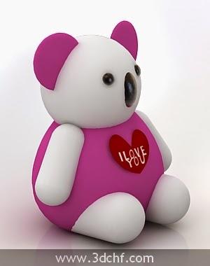 panda free 3d model